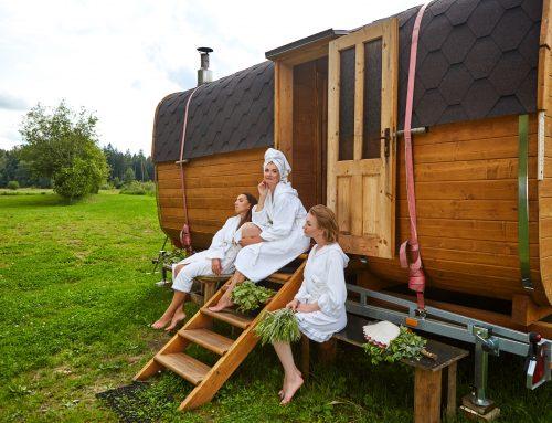 Ruska bania w Twoim ogrodzie. Wszystko, co powinieneś wiedzieć o saunie we wschodnim stylu